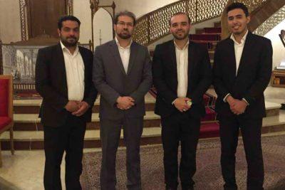 تیم اجرایی مهمان ایرانی